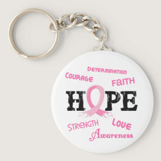 Breast Cancer HOPE 7.1 Keychain