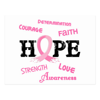 Breast Cancer HOPE 7.1 Postcard
