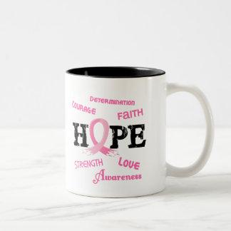 Breast Cancer HOPE 7.1 Two-Tone Coffee Mug