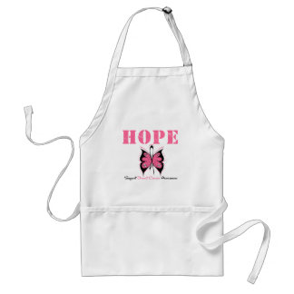 Breast Cancer Hope Butterfly Apron