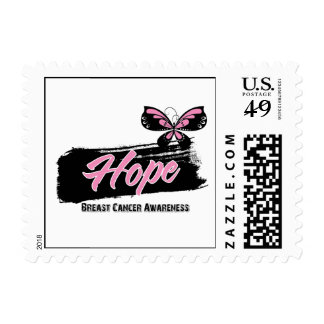 Breast Cancer HOPE Butterfly Stamps