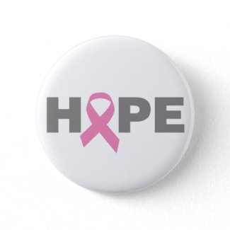 Breast Cancer Hope Button button