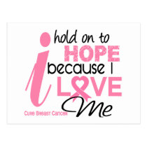 Breast Cancer Hope for ME Postcard