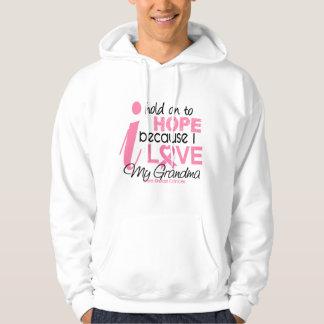 Breast Cancer Hope for My Grandma Hoodie