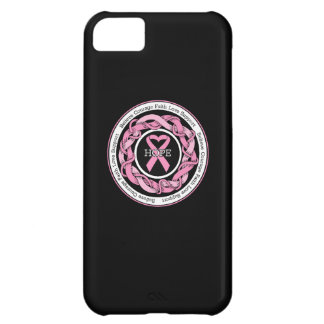 Breast Cancer Hope Intertwined Ribbon iPhone 5C Cover