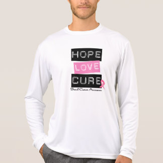 Breast Cancer Hope Love Cure T-Shirt
