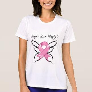 Breast Cancer Hope Love Faith Shirts
