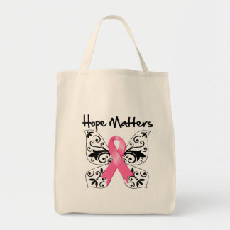 Breast Cancer Hope Matters Canvas Bag