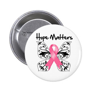 Breast Cancer Hope Matters Button