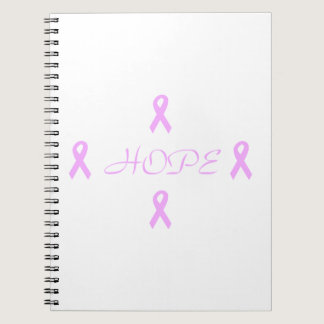 Breast Cancer Hope Notebook