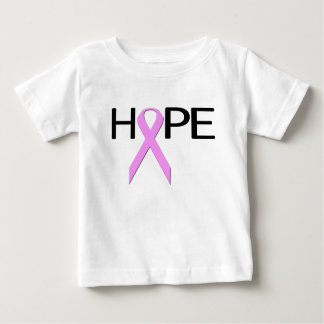Breast Cancer Hope Pink Ribbon Baby T-Shirt
