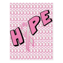 Breast Cancer Hope Postcard