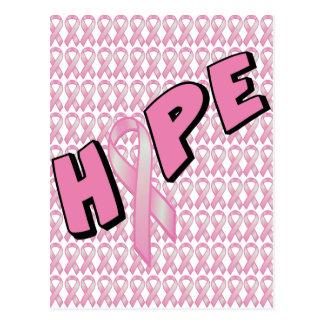 Breast Cancer Hope Postcard