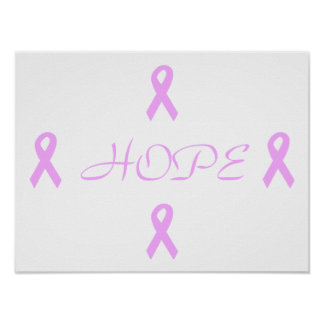 Breast Cancer Hope Poster
