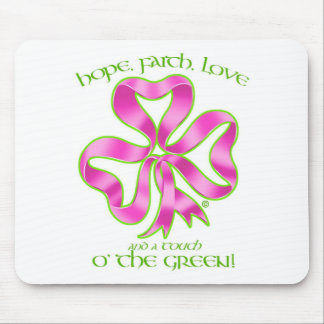 Breast Cancer Hope Ribbon Mouse Pad