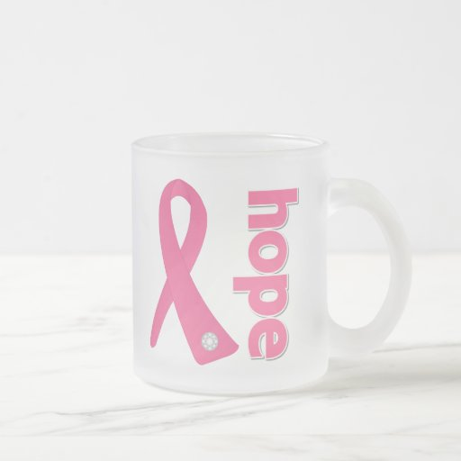 Breast Cancer Hope Ribbon Mug
