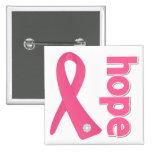 Breast Cancer Hope Ribbon Pin