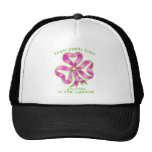 Breast Cancer Hope Ribbon Trucker Hat