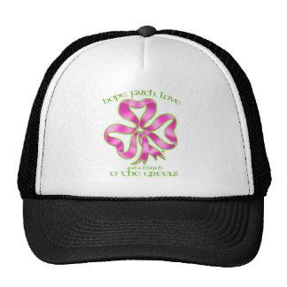 Breast Cancer Hope Ribbon Trucker Hat