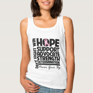 Breast Cancer Hope Support Advocate Basic Tank Top