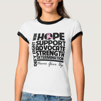 Breast Cancer Hope Support Advocate T-Shirt