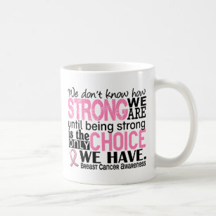 Breast cancer coffee cup