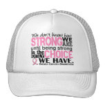 Breast Cancer How Strong We Are Mesh Hats