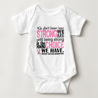 Breast Cancer How Strong We Are Tee Shirt