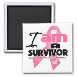 Breast Cancer - I am a Survivor Refrigerator Magnets