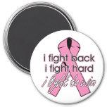 Breast Cancer I Fight Back Fridge Magnets