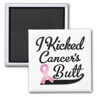 Breast Cancer I Kicked Butt Fridge Magnet