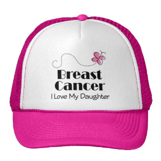 Breast Cancer I Love My Daughter Trucker Hat