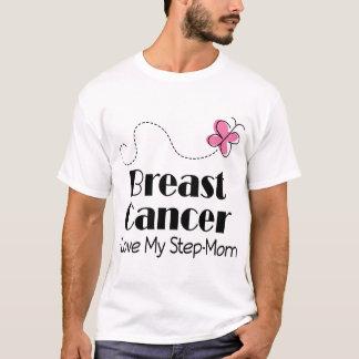 Breast Cancer I Love My Step Mom T-Shirt