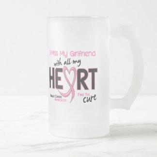 Breast Cancer I Miss My Girlfriend Mugs