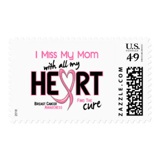 Breast Cancer I Miss My Mom Postage