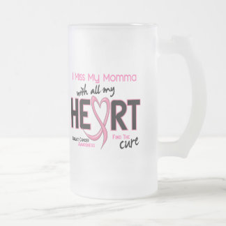 Breast Cancer I Miss My Momma Coffee Mugs