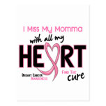 Breast Cancer I Miss My Momma Post Card