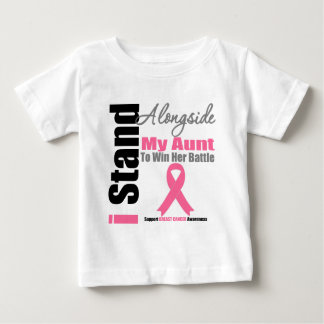 Breast Cancer I Stand Alongside My Aunt T Shirt