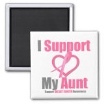 Breast Cancer I Support My Aunt Magnet
