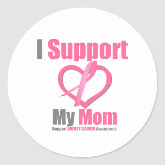 Breast Cancer I Support My Mom Sticker