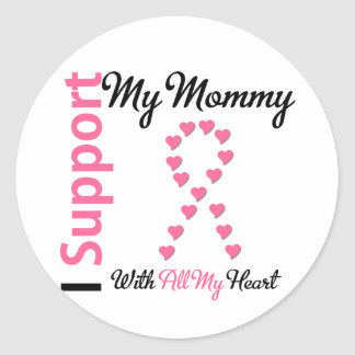 Breast Cancer I Support My Mommy Sticker