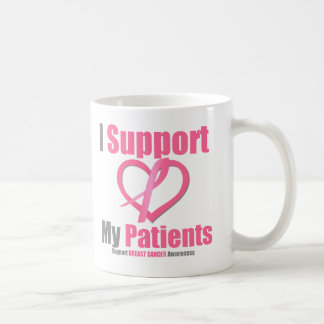 Breast Cancer I Support My Patients Classic White Coffee Mug