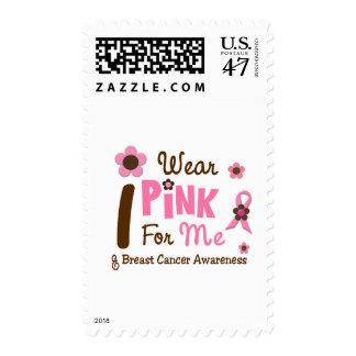 Breast Cancer I Wear Pink For Me 12 Stamp