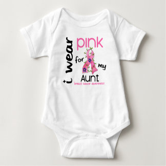 Breast Cancer I WEAR PINK FOR MY AUNT 43 T-shirts