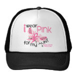 Breast Cancer I WEAR PINK FOR MY AUNT 45 Hats