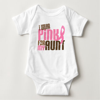 Breast Cancer I WEAR PINK FOR MY AUNT 6.3 Tshirts