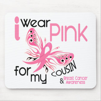 Breast Cancer I WEAR PINK FOR MY COUSIN 45 Mouse Pad