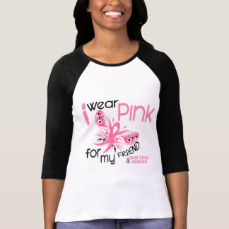 Breast Cancer I WEAR PINK FOR MY FRIEND 45 T-shirts