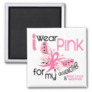 Breast Cancer I WEAR PINK FOR MY GRANDMOTHER 45 Magnet
