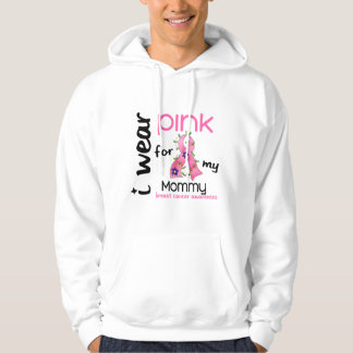 Breast Cancer I WEAR PINK FOR MY MOMMY 43 Hoodie